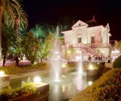 Villa Vergine - Vista di Villa Vergine con fontane