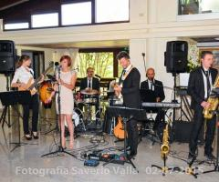 Novilunio Band - Il gruppo durante un matrimonio