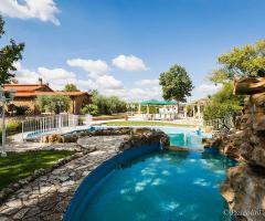 Villa Valente - Il laghetto artificiale