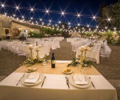 Masseria San Lorenzo - Il tavolo degli sposi