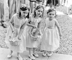 Foto delle damigelle al matrimonio