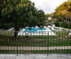 Tenuta Monacelle - Vista della piscina