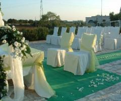 Masseria Bonelli - Cerimonia di matrimonio in giardino