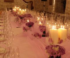 Casale San Nicola - Allestimento in rosa