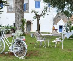 Villa Cenci - Dettagli del giardino
