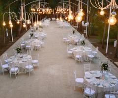 Villa Madama - L'incantevole Sala Botticelli all'aperto