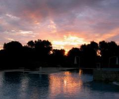 Tenuta Monacelli - Al tramonto