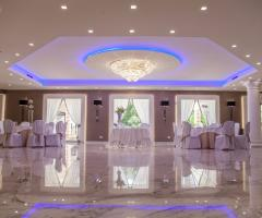 Villa Demetra - La sala dei ricevimenti di nozze