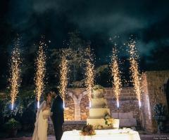 Antica Masseria Martuccio - Il brindisi degli sposi