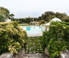 Masseria Luco - La piscina