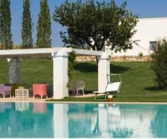 Villa Cenci - Il bordo piscina