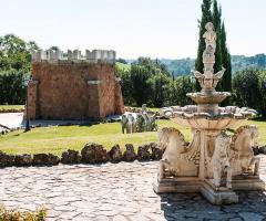 Villa Valente - Particolari della villa