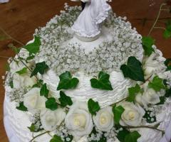 Masseria del Gelso Antico - La torta nuziale
