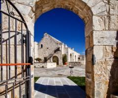 Masseria Bonelli - Il cancello della masseria