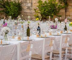 Masseria San Lorenzo - I dettagli della tavola