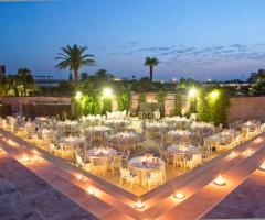 Grand Hotel Masseria Santa Lucia - La coreografia notturna