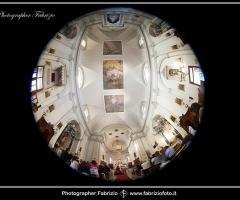 Fabrizio Foto - Vista dal basso della chiesa