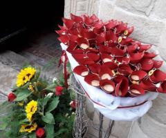 Sara Carloni Studio - Coni Portariso con fiori