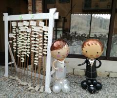 Il Punto Esclamativo - Tableau e decorazione ingresso ristorante