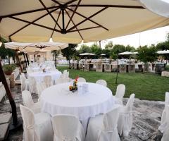 Masseria San Lorenzo - L'allestimento dell'aia