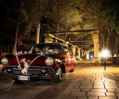 Antica Masseria Martuccio - L'auto degli sposi