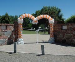 Entrata alla location di matrimonio