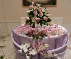 Villa Valente - Il tavolo degli sposi