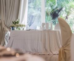 Villa Demetra - Il tavolo per gli sposi
