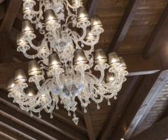 Villa Demetra - Il bellissimo lampadario del salone