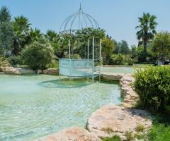 Casale San Nicola - Il gazebo sull'acqua