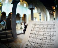 Abbazia di Sant'Andrea in Flumine - Musica in chiesa per le nozze