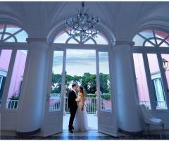 Villa Ciardi - Sposi all'ingresso