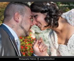 Fabrizio Foto - Sguardi intensi degli sposi