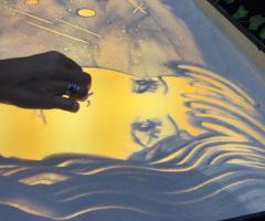 Spettacoli emozionanti di sabbia animata - Dettagli di immagini