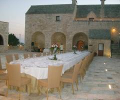 Masseria Bonelli - Allestimento per ricevimenti di matrimonio all'aperto