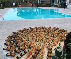 Assia Spa - L'antipasto a bordo piscina