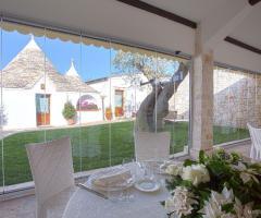 Masseria Bonelli - Allestimento matrimonio in bianco
