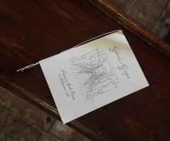 Sara Carloni Studio - Libretti messa con disegno interno Chiesa