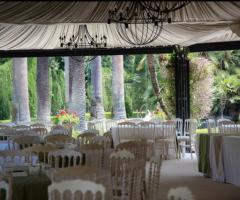Villa Vergine - Allestimento in gazebo