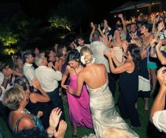 Animazione matrimoni - La festa di nozze all'aperto
