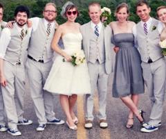 Fiori per la sposa casual