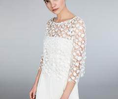 Max Mara Bridal - Top in tulle ricamato