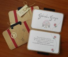 Sara Carloni Studio - Partecipazioni valigia