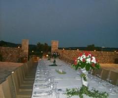 Masseria Bonelli - Tavolo per il ricevimento di matrimonio