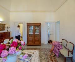 Masseria Luco - Le sale interne per gli ospiti