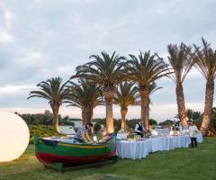 Grand Hotel Masseria Santa Lucia -I tavoli del buffet