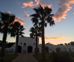 Masseria Eccellenza - La location al tramonto