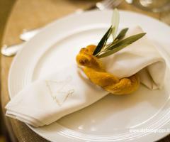 Elisabetta D'Ambrogio Wedding Planner - I dettagli della tavola del ricevimento di nozze
