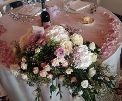 Insolito Fiori - Decorazioni del tavolo degli sposi