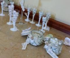 Insolito Fiori - Particolari del tavolo dei confetti